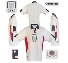 Till ENGLANDs förstatröja i Frankrike-VM 1998