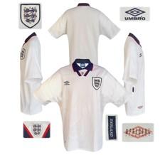 Till ENGLANDs förstatröja 1993 - 1994