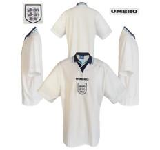 Till ENGLANDs förstatröja  i Englands-EM 1996