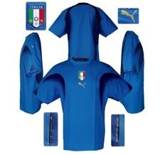 Till ITALIENS förstatröja i Tyskland-VM 2006