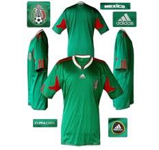 Till MEXICOs förstatröja i Sydafrika-VM 2010