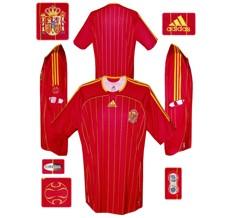 Till SPANIENs förstatröja i Tyskland-VM 2006