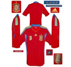Till SPANIENs förstatröja 2010 - 2012