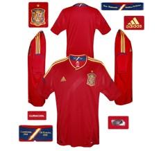 Till SPANIENs förstatröja i Polen/Ukraina-EM 2012
