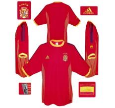 Till SPANIENs förstatröja i Sydkorea/Japan-VM 2002