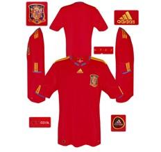Till SPANIENs förstatröja i Sydafrika-VM 2010