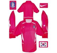 Till SYDKOREAs förstatröja i Sydkorea/Japan-VM 2002