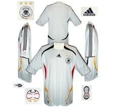 Till TYSKLANDs förstatröja i Tyskland-VM 2006