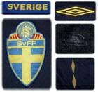 SVERIGEs andratröja i Schweiz/Österrike-EM 2008 detaljer