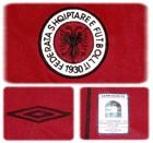 ALBANIENs förstatröja 2004 - 2006 detaljer