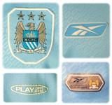 MANCHESTER CITYs förstatröja 2004 - 2006 detaljer