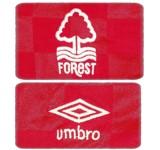 NOTTINGHAM FORESTs förstatröja 1986 - 1988 detaljer