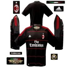 Till MILANs tredjetröja 2010 - 2011