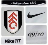 FULHAMs förstatröja 2009 - 2010 detaljer