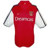ARSENAL F. C. hemmatröja 2000 - 2002 front