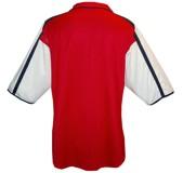 ARSENAL F. C. hemmatröja 2000 - 2002 rygg
