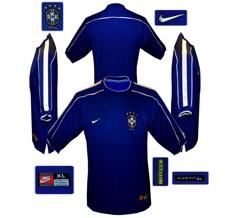 Till BRASILIENs andratröja i Frankrike-VM 1998