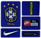 BRASILIENs andratröja i Frankrike-VM 1998 detaljer