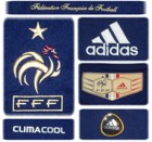 FRANKRIKEs förstatröja i Sydafrika-VM 2010 detaljer