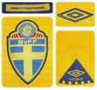 SVERIGEs förstatröja 2010 - 2012 detaljer
