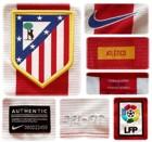 ATLETICO MADRIDs förstatröja 2013 - 2014 detaljer