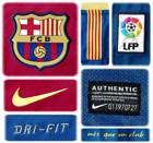 BARCELONAs förstatröja 2010 - 2011 detaljer