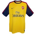 ARSENALs andraatröja 2008 - 2009 front