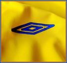 SVERIGEs förstatröja i Tyskland-VM 2006 detaljer umbro