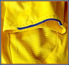 SVERIGEs förstatröja i Tyskland-VM 2006 detaljer ärm