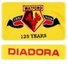 WATFORDs förstatröja 2006 - 2007 detaljer