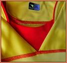 WATFORDs förstatröja 2006 - 2007 detaljer hals