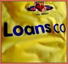 WATFORDs förstatröja 2006 - 2007 detaljer sponsor