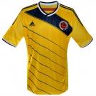 COLOMBIAs förstatröja i Brasilien-VM 2014 front