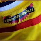 COLOMBIAs förstatröja i Brasilien-VM 2014 detaljer