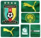 KAMERUNs förstatröja i Sydafrika-VM 2010 detaljer