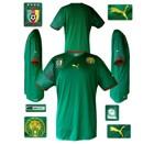 KAMERUNs förstatröja i Sydafrika-VM 2010