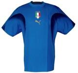 ITALIENs förstatröja i Tyskland-VM 2006 front