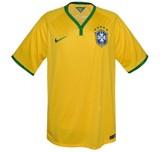 Till BRASILIENs förstatröja i Brasilien-VM 2014