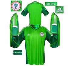 Till NIGERIAs förstatröja i Brasilien-VM 2014