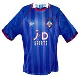 Till OLDHAMs förstatröja 1993 - 1995