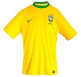 Till BRASILIENs förstatröja i Sydafrika-VM 2010