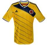 Till COLOMBIAs förstatröja i Brasilien-VM 2014