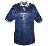 Till SKOTTLANDs förstatröja i Frankrike-VM 1998