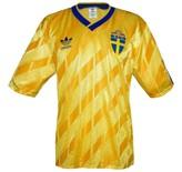 Till SVERIGEs förstatröja i Italien-VM 1990