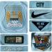 MANCHESTER CITYs förstatröja 2014 - 2015 detaljer