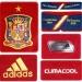 SPANIENs förstatröja i Polen/Ukraina-EM 2012 detaljer