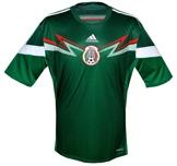 Till MEXICOs förstatröja i Brasilien-VM 2014