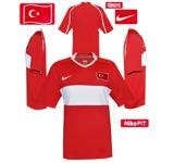 TURKIETs förstatröja i Schweiz/Österrike-EM 2008