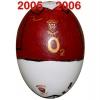 Till ARSENALs fotbollsägg 2005 - 2006