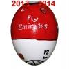 Till ARSENALs fotbollsägg 2013 - 2014